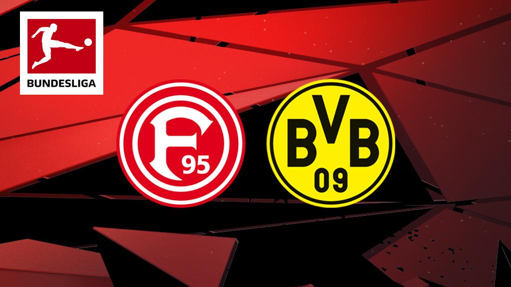 Live: Fortuna v Borussia Dortmund