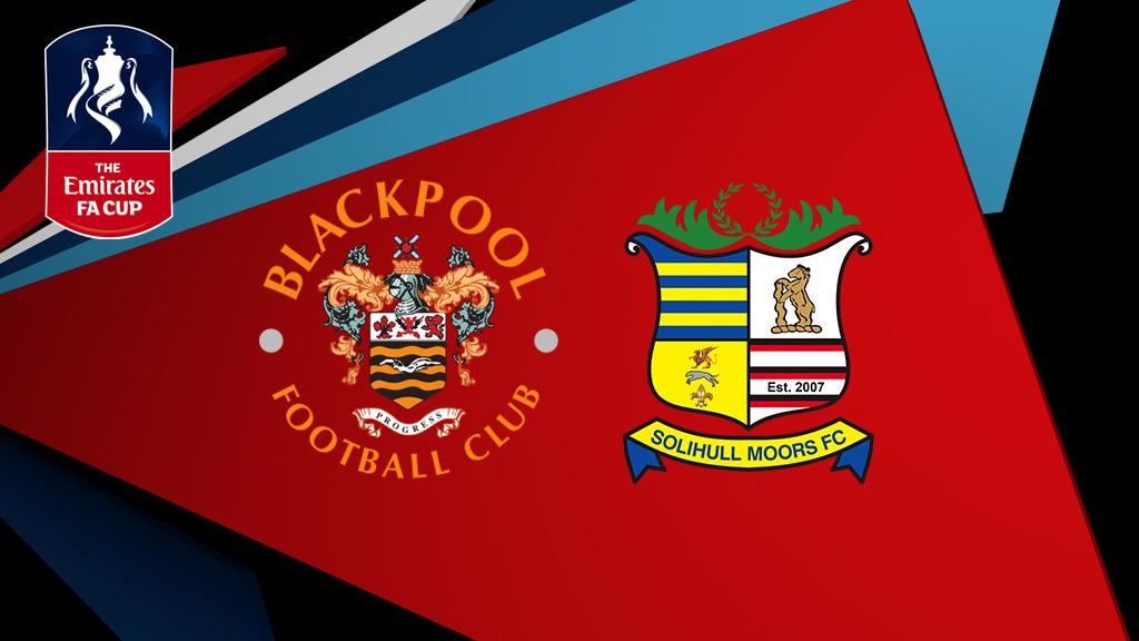Live: Blackpool v Solihull Moors