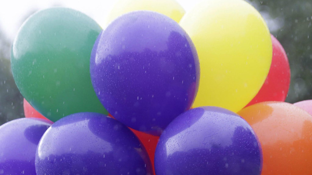 Balloons/Wallpaper/Frozen Chips/Incandescent Light Bulbs