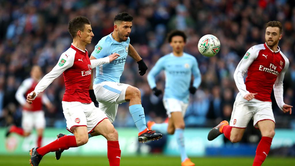 Arsenal/Man City '18