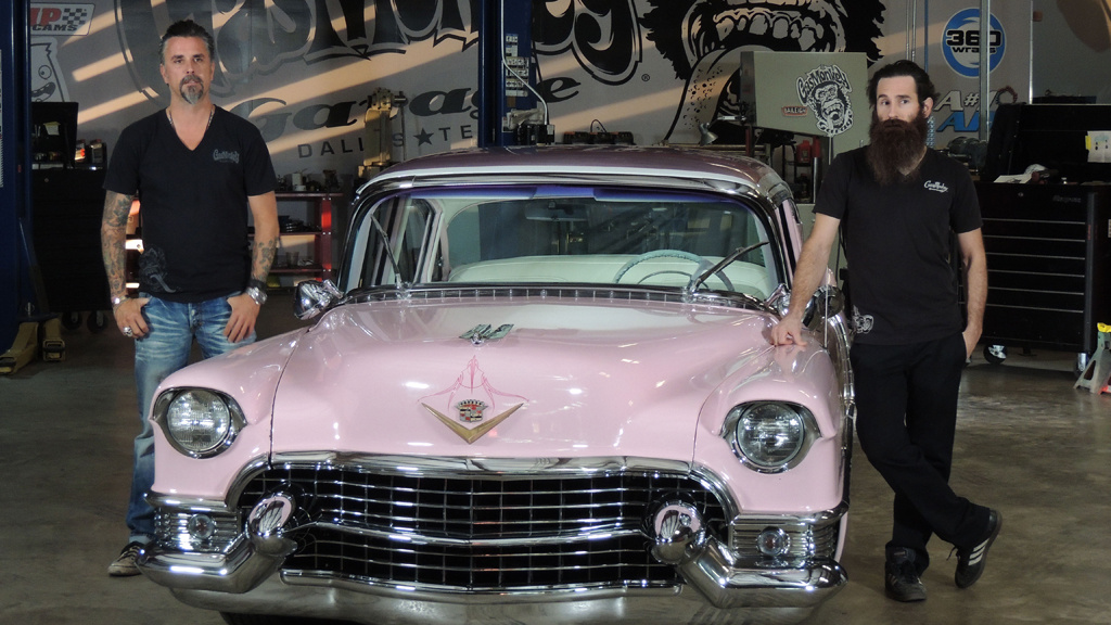 NHRA and a '55 Pink Caddy - Part Two
