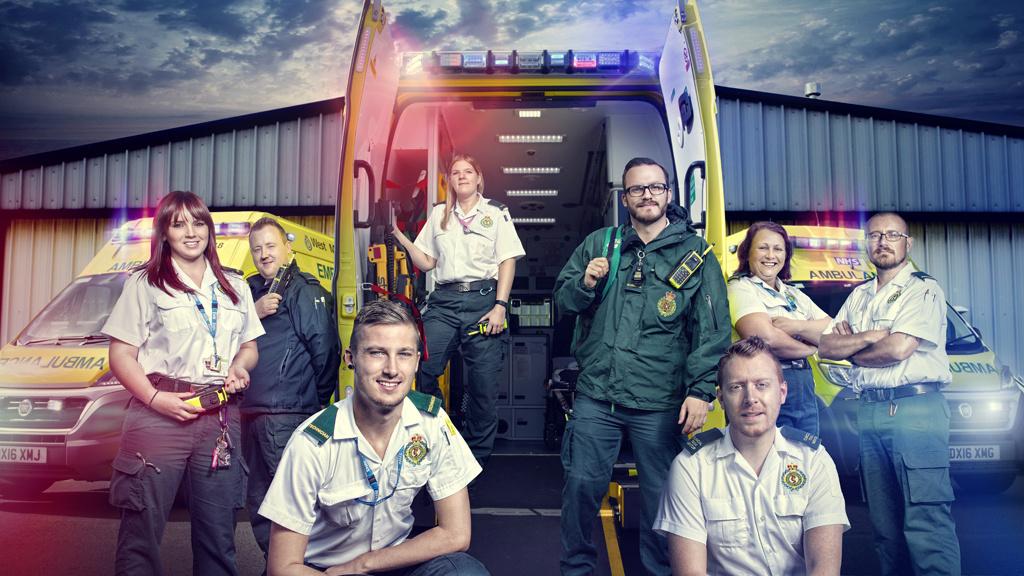 Inside the Ambulance at Christmas