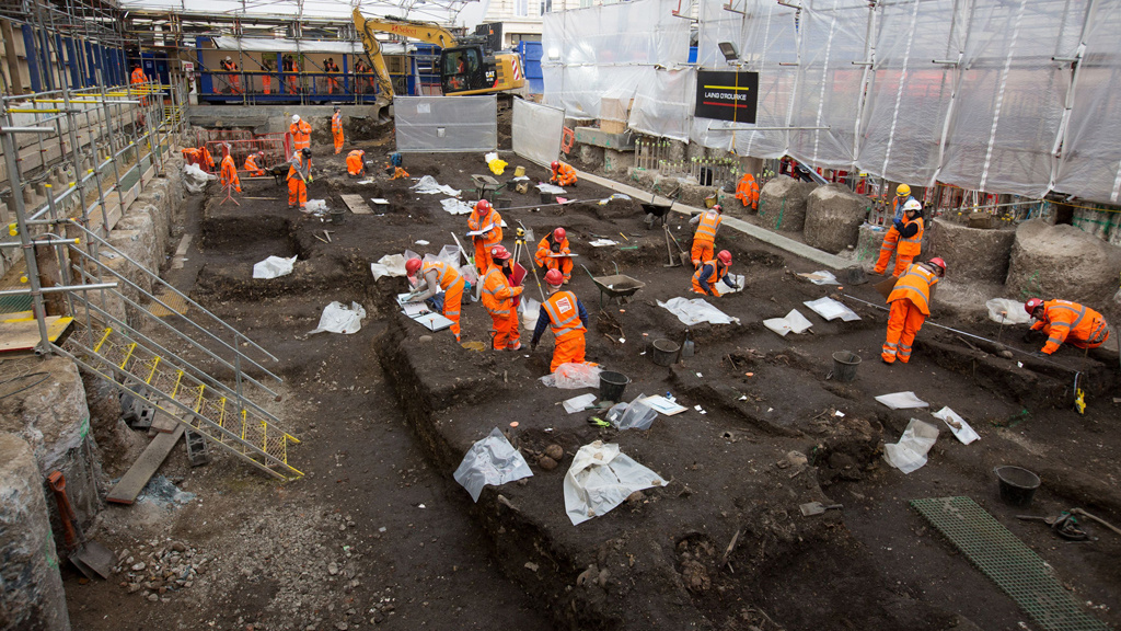 The Crossrail Discovery: London's Lost Graveyard