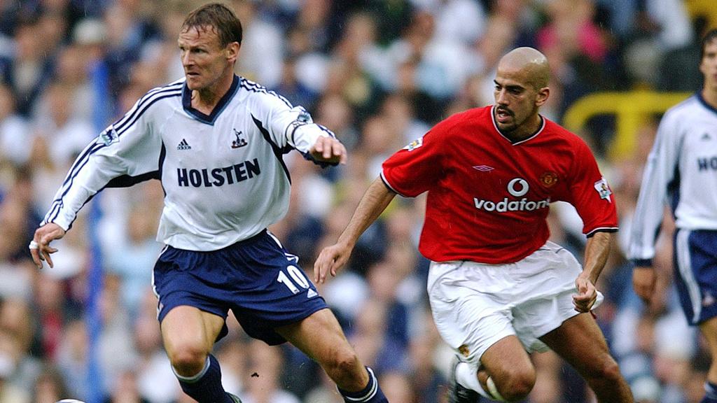 Tottenham Hotspur v Manchester United: 2001/02